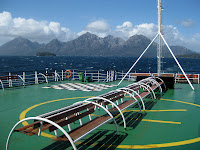 Crusing the Patagonian Fjords on the Navimag Ship