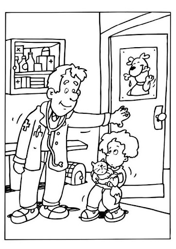 Veterinary Coloring Pages Veterinary To Color on H Horses Letter Printables