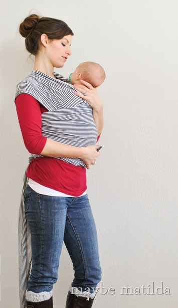 Win a Happy Baby Wrap at Maybe Matilda! www.maybematilda.com