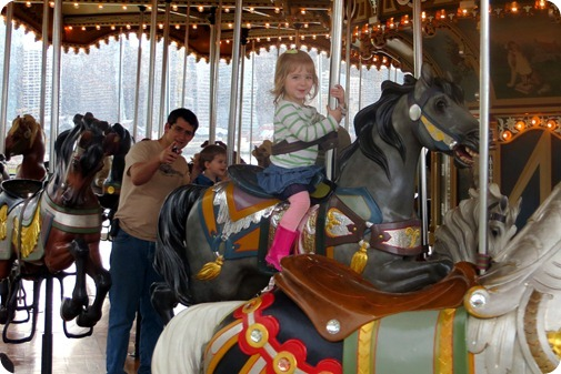 Jane's Carousel with Grampa Hamilton