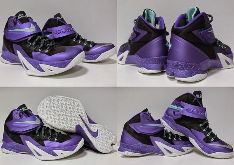 Nike Zoom Soldier VIII 8211 Summit Lake Hornets ...