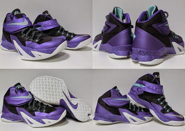 Nike Zoom Soldier VIII 8211 Summit Lake Hornets