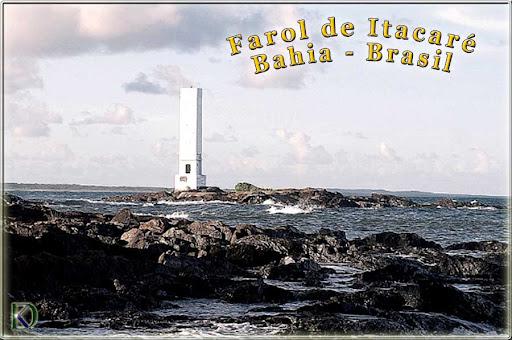 Farol Itacare, Ilha Contas, Itacare Bahia Brasil