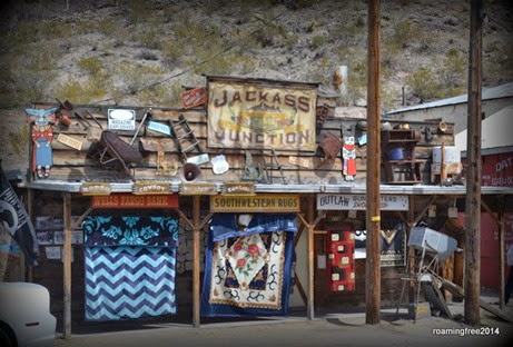 Shopping in Oatman