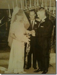 Joe &amp; Shirley Wedding 1962
