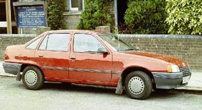 Vauxhall 1985 Belmont