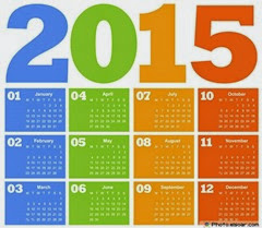 2015 год календарь в векторе