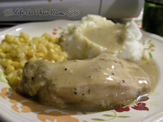 Not-So-Bland Chicken & Gravy-Life as Their Mom