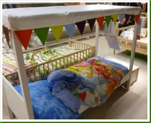 Ikea childs four poster bed