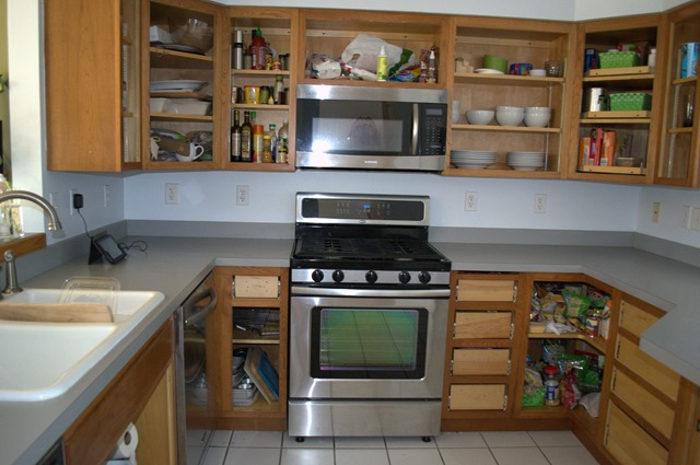 Kitchen without doors 2