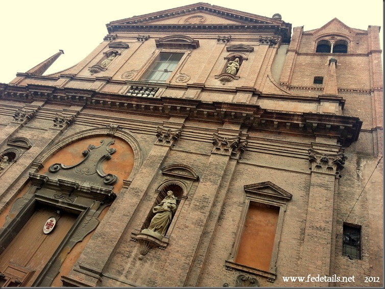 La Chiesa di San Domenico, Ferrara, Emiliaromagna, Italia - The Church of San Domenico, Ferrara, Emiliaromagna, Italy - Property and Copyright of www.fedetails.net