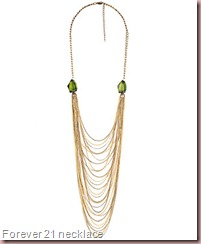 Multi-Strand Faceted Gemstone Necklace Forever 21