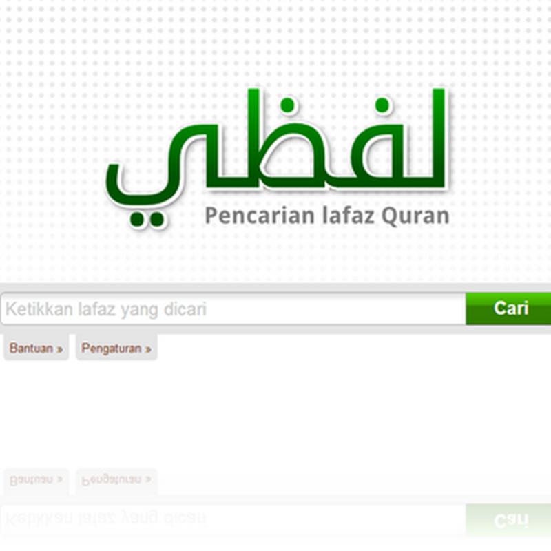 Lafzi, Penelusur Ayat Al Qur'an Dengan Lafadz Latin/Indonesia