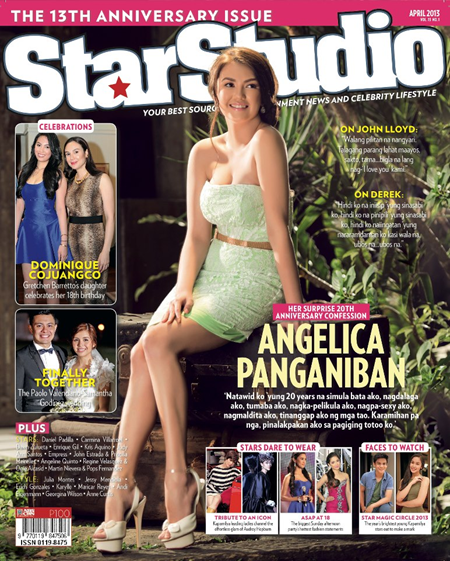 Angelica Panganiban on StarStudio April 2013 cover