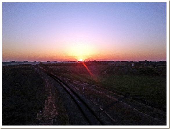 Sol sin tren