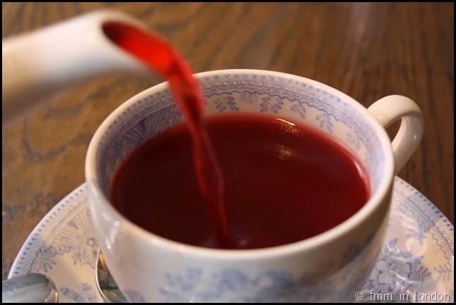 Berry Hibiscus tea