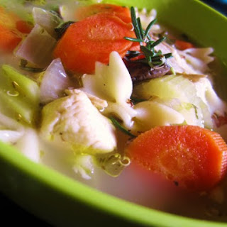 Lemony Chicken Noodle Soup