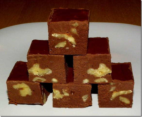 Fudge made with powdered milk cond. milk 1-9-12