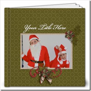 Christmas Photobook template