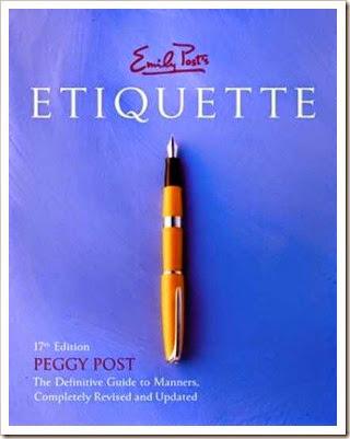 emily post etiquette