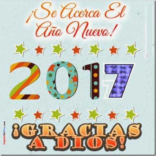 Dios les bendiga en este año nuevo