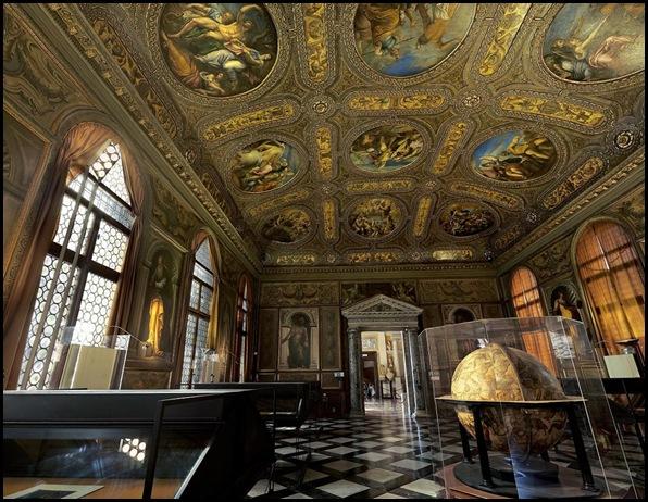Bibliothèque Sansovino, Venise , Italie