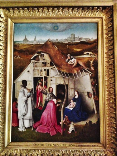 "Hieronymous Bosch, "" The Adoration of the Magi, ,  Art Inspiration at Petworth House , West Sussex , Victorian Era Aestetics"