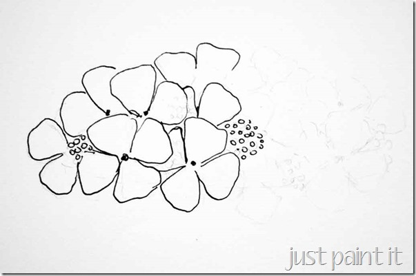 how-to-draw-hydrangea-4