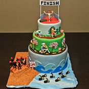 Triathlon Cake-watermark
