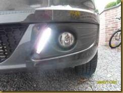 Dagrijlicht montage Dacia MCV 07
