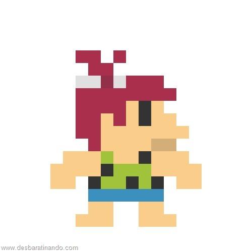 super herois e viloes em 8 bits flintstones  (2)
