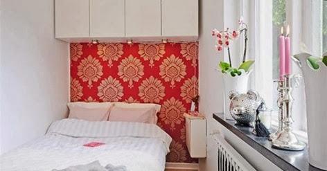 model desain kamar tidur yang sempit namun minimalis