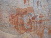 Elephant - ancient painting