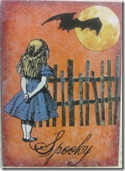 ATC Alice Halloween Spooky