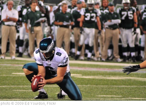 'Football: Jets-v-Eagles, Sep 2009 - 36' photo (c) 2009, Ed Yourdon - license: http://creativecommons.org/licenses/by-sa/2.0/