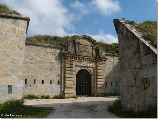 Fuerte Alfonso XII - ruta San Cristóbal - Ezkaba