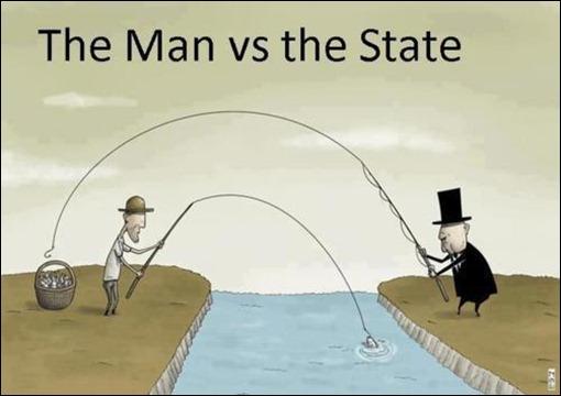 homem versus estado