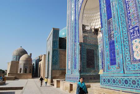 Obiective turistice Uzbekistan: Samarkand - Shakh-I-Zinda.jpg