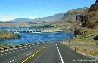 Columbia River ahead