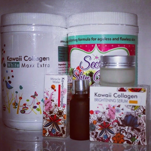 SET JIHAN SECRET SKIN WHITE KAWAII COLLAGEN PROMO MURAH