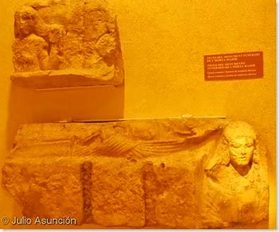 Museo arqueológico de Alcoi - Monumento funerario de L´Horta Major