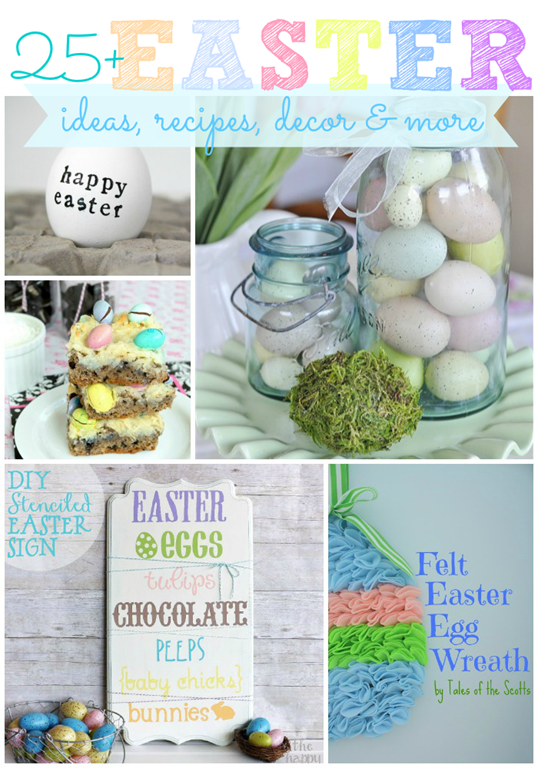 25  Easter ideas, recipes, decor & more #featured