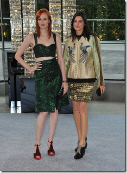 Karen Elson, Tabitha Simmons