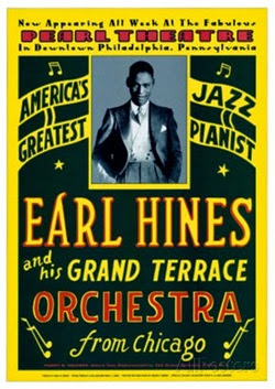 Earl Hines orch poster