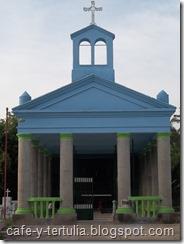 Capilla cementerio de Agua de Dios