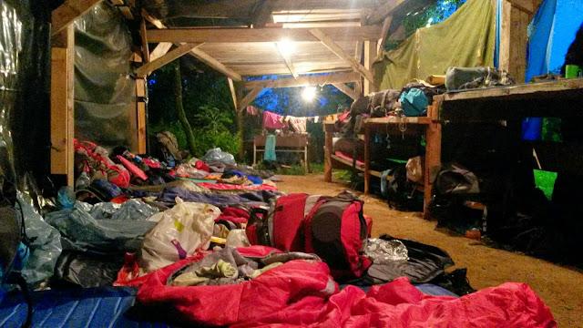Prvi dan pohodnega tabora (GG)