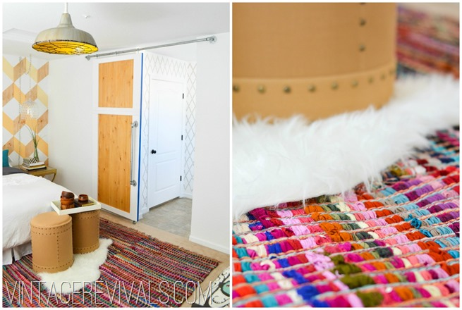 Colorful Chindi Rug Makeover