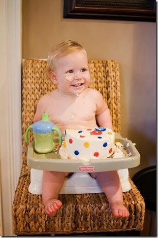 Blaine chair smiling