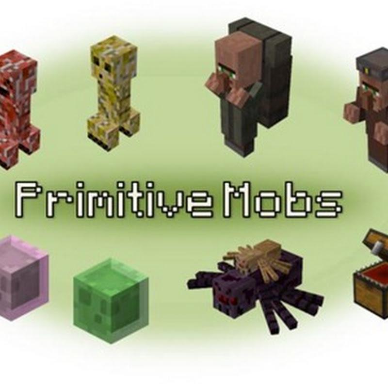 Minecraft 1.4.7 - Primitive Mobs
