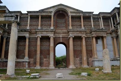 Sardis Gymnasium Facade-1